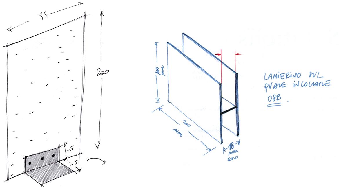allestimento/design elementi