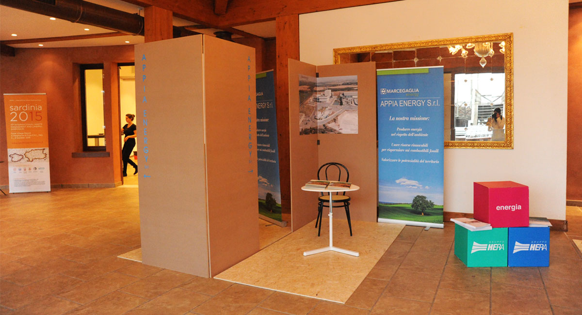 set design/exhibion areas