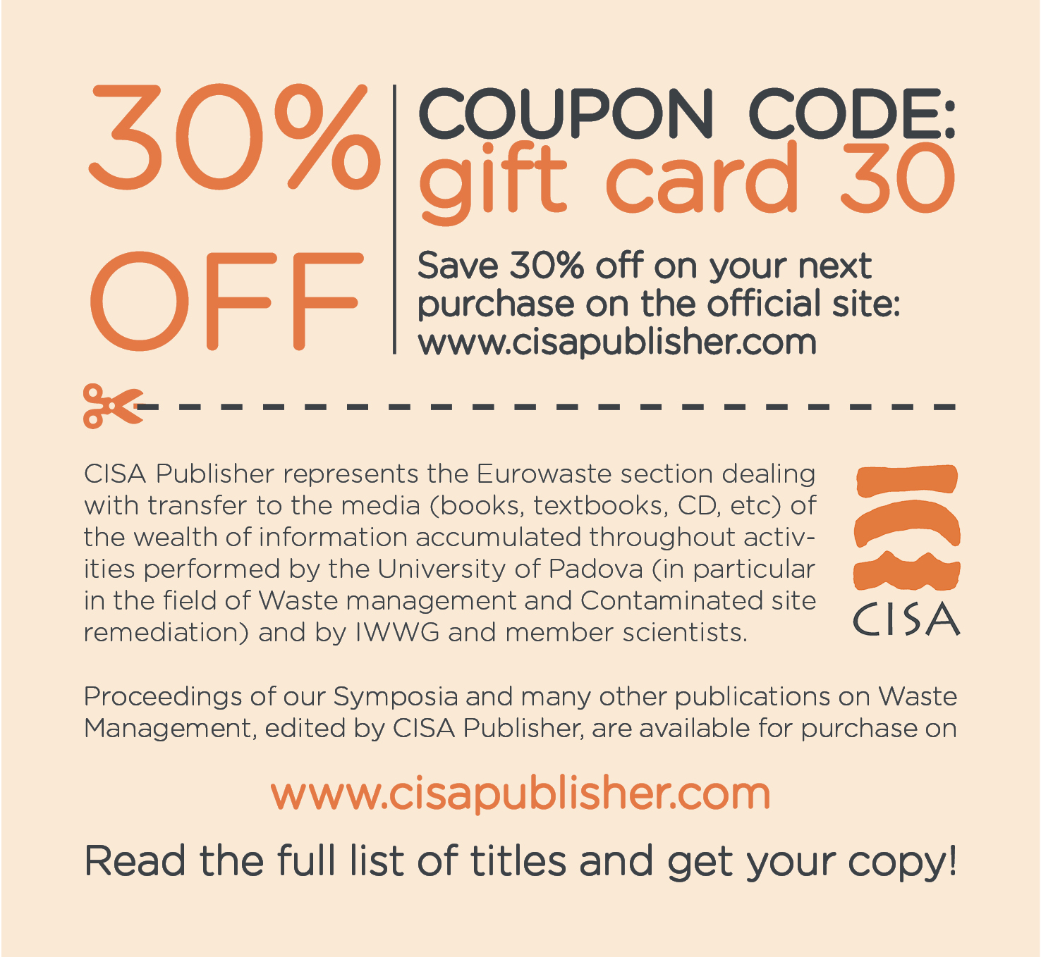 CP-Coupon Cisa Publisher